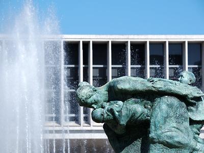 広島の平和記念碑(原爆ドーム)広島の平和記念碑(原爆ドーム)